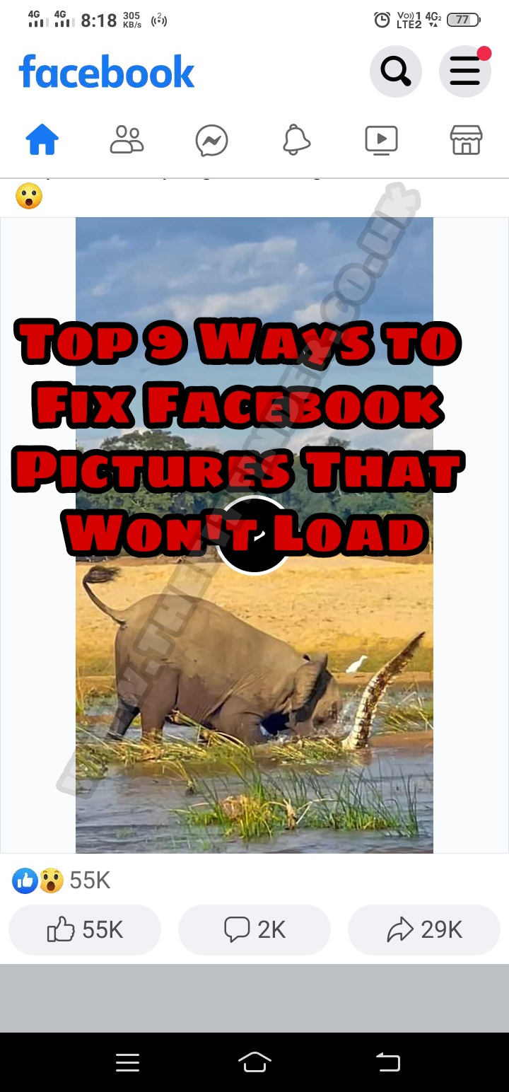 Top 9 Ways to Fix Facebook Pictures That Won't Load